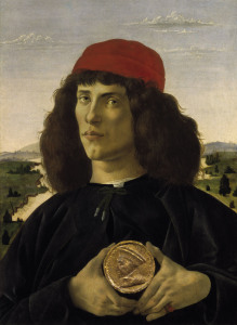 Picture no: 30002658 Botticelli / Portr.of a Stranger / 1488 Created by: Botticelli, Sandro