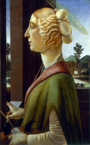 Picture no: 30002704 Botticelli / Saint Catherine Created by: Botticelli, Sandro