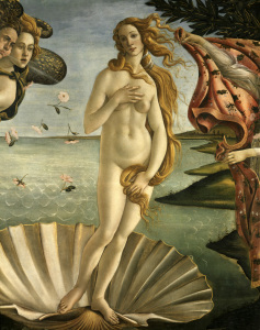 Picture no: 30002714 Botticelli, Birth of Venus / Detail Created by: Botticelli, Sandro
