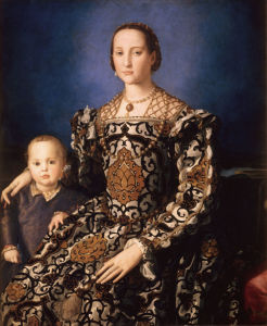 Picture no: 30002734 Eleonora of Toledo & Son /Bronzino/ 1544 Created by: Bronzino, Agnolo