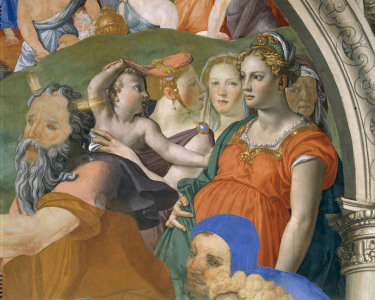 Picture no: 30002772 A.Bronzino, Proc. across Red Sea, Detail Created by: Bronzino, Agnolo