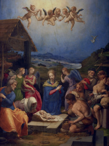 Picture no: 30002774 A.Bronzino, Adoration of the Shepherds Created by: Bronzino, Agnolo