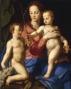 Picture no: 30002780 A.Bronzino, Madonna w. Child a. John Created by: Bronzino, Agnolo