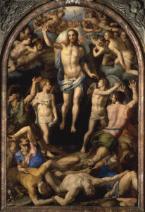Picture no: 30002782 A.Bronzino / Resurrection of Christ /C16 Created by: Bronzino, Agnolo