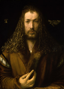 Picture no: 30002822 Dürer / Self-portrait / 1500 Created by: Dürer, Albrecht
