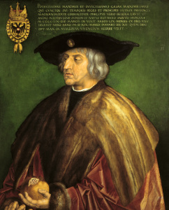 Picture no: 30002830 Maximilian I / Portrait / 1519 Created by: Dürer, Albrecht