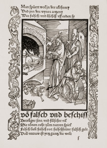 Picture no: 30002836 Brant,Ship of Fools / Woodcut by Dürer Created by: Dürer, Albrecht