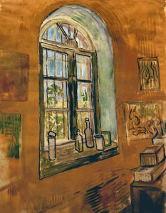 Picture no: 30002852 Van Gogh / Studio Window Created by: van Gogh, Vincent