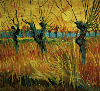 Picture no: 30002864 Van Gogh / Willows at Sunset / 1888 Created by: van Gogh, Vincent