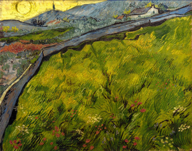 Picture no: 30002872 V.v.Gogh, Cornfield at sunrise Created by: van Gogh, Vincent