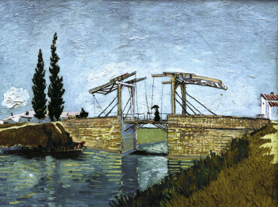 Picture no: 30002878 V.van Gogh, Langlois Drawbridge Created by: van Gogh, Vincent