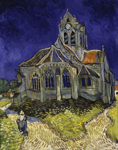 Picture no: 30002880 van Gogh/Church in Auvers-sur-Oise/1890 Created by: van Gogh, Vincent