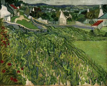 Picture no: 30002882 van Gogh / Vineyards at Auvers / 1890 Created by: van Gogh, Vincent
