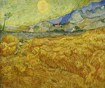 Picture no: 30002886 V.van Gogh, Harvest Created by: van Gogh, Vincent