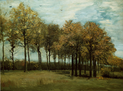 Picture no: 30002888 v.Gogh / Autumn landscape / Nov. 1885 Created by: van Gogh, Vincent