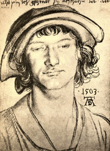 Picture no: 30002926 A.Dürer, Portr.of 18-year-old Youth Created by: Dürer, Albrecht