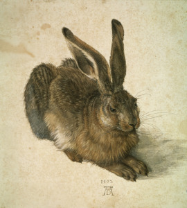 Picture no: 30002990 Young Hare / Duerer / 1502 Created by: Dürer, Albrecht