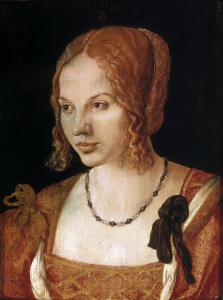 Picture no: 30003004 Portrait of Venetian Woman / Dürer/ 1505 Created by: Dürer, Albrecht