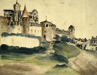 Picture no: 30003024 Trento Castle / Paint.by Duerer / 1495 Created by: Dürer, Albrecht