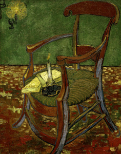 Picture no: 30003060 Van Gogh / Gauguin's Chair Created by: van Gogh, Vincent