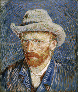 Picture no: 30003064 van Gogh, Self-portrait with felt hat Created by: van Gogh, Vincent