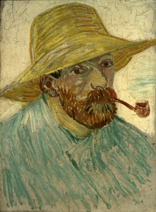 Picture no: 30003074 van Gogh, Self-Portrait w.Straw Hat/1888 Created by: van Gogh, Vincent