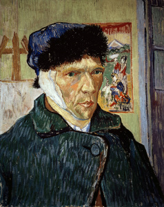 Picture no: 30003078 Van Gogh/Self-Portrait with Bandaged Ear Created by: van Gogh, Vincent