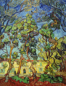 Picture no: 30003100 V.van Gogh, Hospital at Saint-Rémy Created by: van Gogh, Vincent