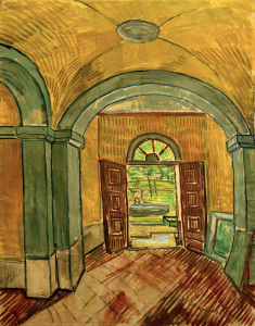 Picture no: 30003104 V.van Gogh, Vestibule of Asylum / 1889 Created by: van Gogh, Vincent