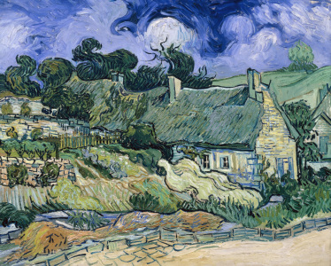 Picture no: 30003106 V.van Gogh / Thatched Cottages at Cord. Created by: van Gogh, Vincent