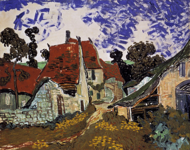 Picture no: 30003114 v.Gogh / Village street in Auvers / 1890 Created by: van Gogh, Vincent