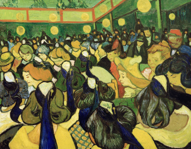 Picture no: 30003116 Vincent van Gogh /The Dancehall in Arles Created by: van Gogh, Vincent