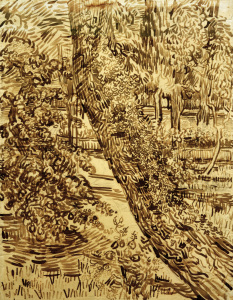 Picture no: 30003134 v.Gogh, Tree w.Ivy in Asylum Garden Created by: van Gogh, Vincent