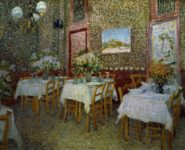 Picture no: 30003150 V.van Gogh, Interior of Restaurant /1887 Created by: van Gogh, Vincent