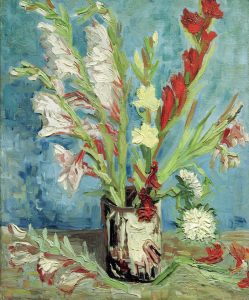 Picture no: 30003164 Vincent van Gogh / Vase with Gladioli Created by: van Gogh, Vincent