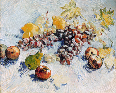 Picture no: 30003166 v.Gogh /Grapes,Lemons,Pears,Apples /1887 Created by: van Gogh, Vincent