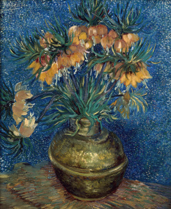 Picture no: 30003174 V.van Gogh / Fritillaries in Copper Vase Created by: van Gogh, Vincent