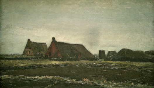 Picture no: 30003198 v.Gogh, Cottages / Paint./ 1883 Created by: van Gogh, Vincent