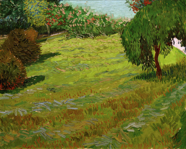 Picture no: 30003202 V.v.Gogh, Sunny Lawn in Public Park/1888 Created by: van Gogh, Vincent