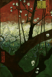 Picture no: 30003208 V.v.Gogh / Flowering Plum Tree / 1887 Created by: van Gogh, Vincent