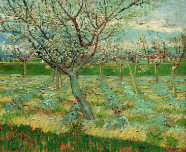 Picture no: 30003214 van Gogh / Orchard in Blossom / 1888 Created by: van Gogh, Vincent