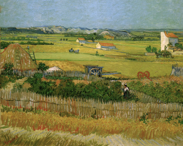 Picture no: 30003218 V.v.Gogh, The Harvest / Paint./ 1888 Created by: van Gogh, Vincent
