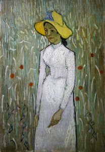 Picture no: 30003222 V.van Gogh, Girl in White /Paint./ 1890 Created by: van Gogh, Vincent