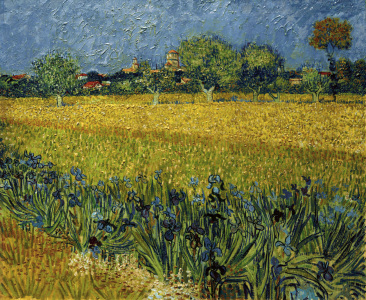 Picture no: 30003228 V.v.Gogh, Arles with Irises /Paint./1888 Created by: van Gogh, Vincent