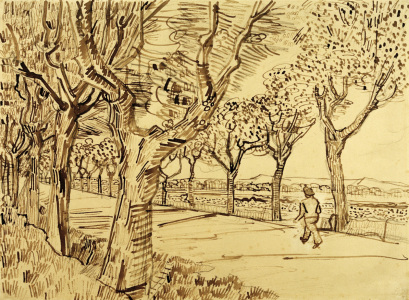 Picture no: 30003232 V.v.Gogh, Road to Tarascon /Drawing/1888 Created by: van Gogh, Vincent