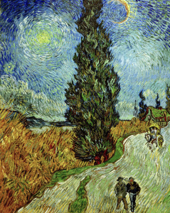 Picture no: 30003286 Van Gogh / Cypress against starry sky Created by: van Gogh, Vincent