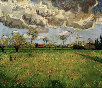 Picture no: 30003290 V.van Gogh, Meadow (Arles) /Paint./1889 Created by: van Gogh, Vincent