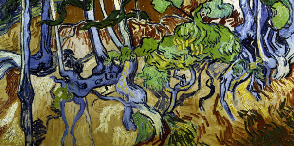 Picture no: 30003294 V.v.Gogh / Tree roots and tree trunks Created by: van Gogh, Vincent