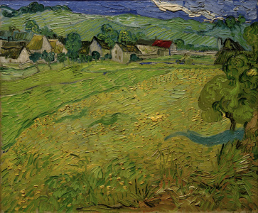 Picture no: 30003298 V.v.Gogh, Les Vessenots,Auvers/Ptg./1890 Created by: van Gogh, Vincent