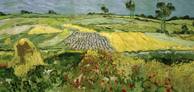 Picture no: 30003318 Van Gogh / Fields in Auvers Created by: van Gogh, Vincent
